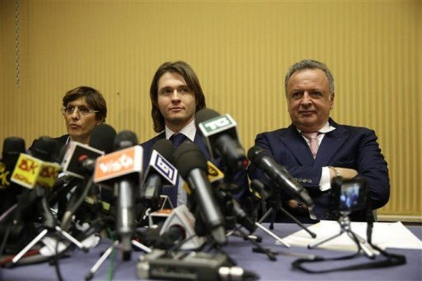 Raffaele Sollecito speaks after acquittal