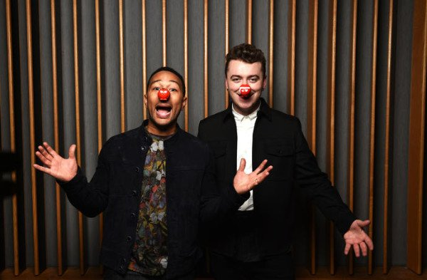 Sam Smith and John Legend release Red Nose Day single 2015
