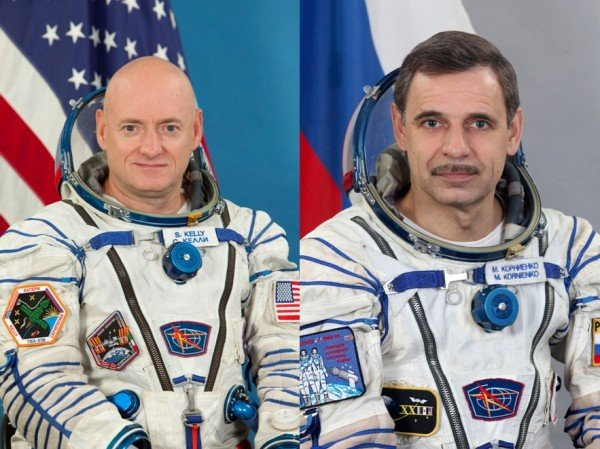 Scott Kelly and Mikhail Kornienko set for one year mission on ISS