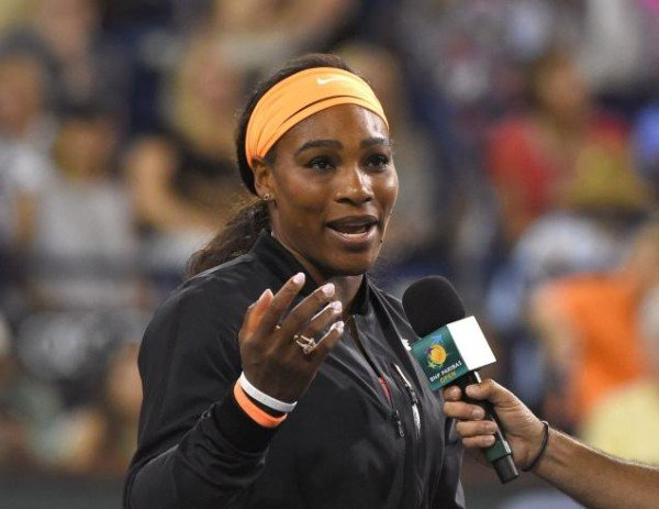 Serena Williams Indian Wells 2015 withdrawal
