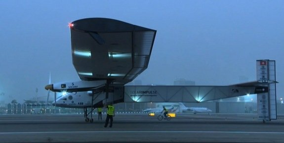 Solar Impulse 2 Oman
