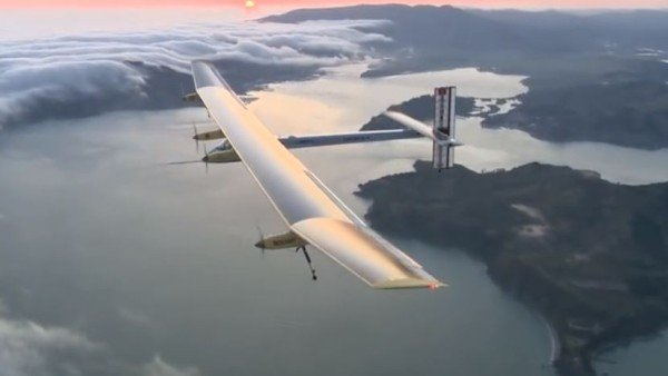 Solar Impulse 2 round the world journey 2015