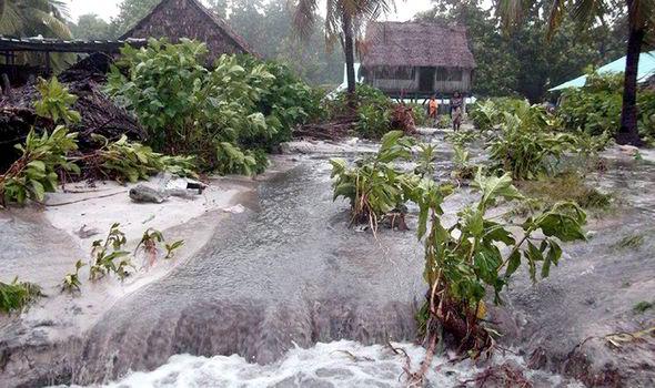 Vanuatu Cyclone Pam disaster