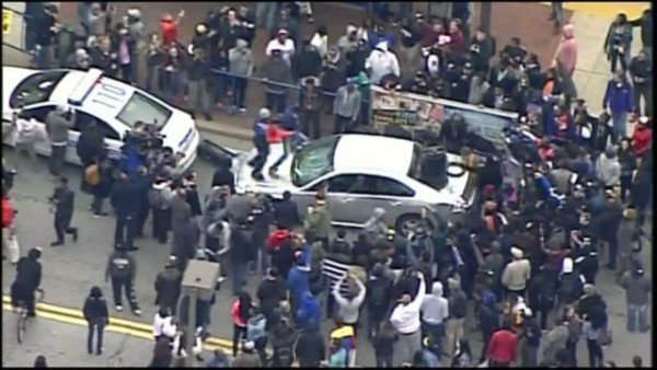 Baltimore riot Freddie Gray protest