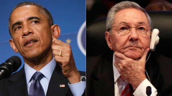 Barack Obama Raul Castro Cuban thaw