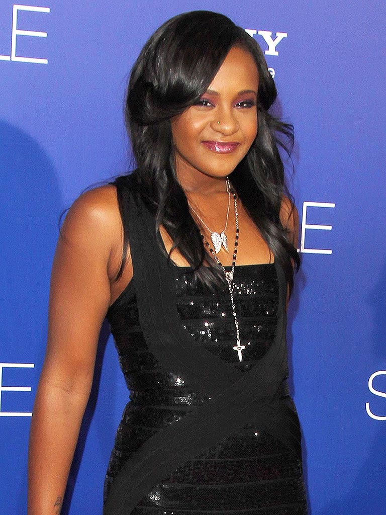 Bobbi Kristina Brown awake