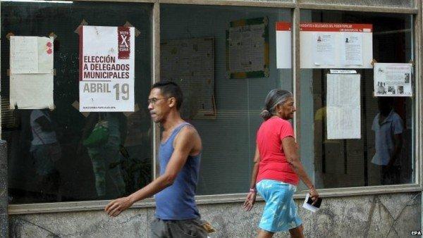 Cuba municipal elections 2015