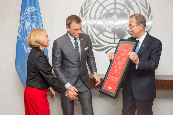 Designation of  Mr. Daniel Craig as the UN Global Advocate for the Elimination of  Mines and Explosive Hazards