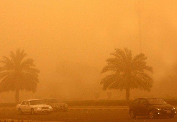 Dubai sandstorm 2015