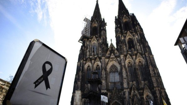 Germanwings crash memorial service Cologne Cathedral