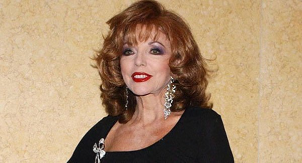 Joan Collins denies arrest