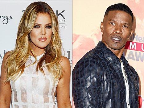 Khloe Kardashian Jamie Foxx Bruce Jenner joke