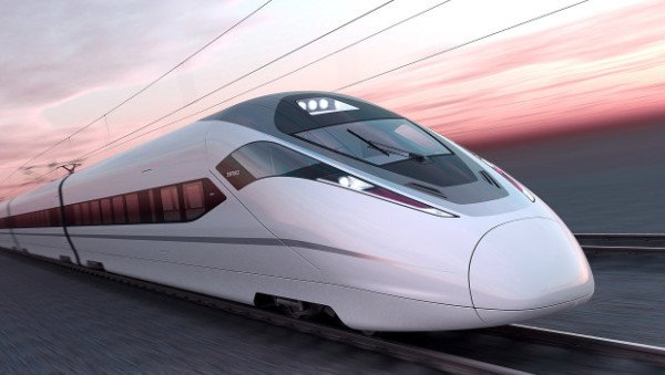 Maglev train world speed record