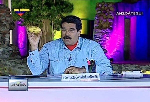 Nicolas Maduro mango