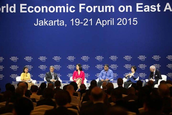 Oil prices World Economic Forum on East Asia