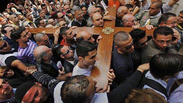 Orthodox Easter Via Dolorosa Jerusalem