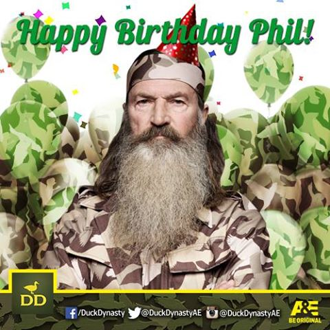 Phil Robertson Celebrates 69th Birthday