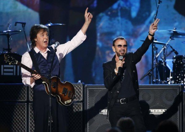 Ringo Starr Hall of Fame induction