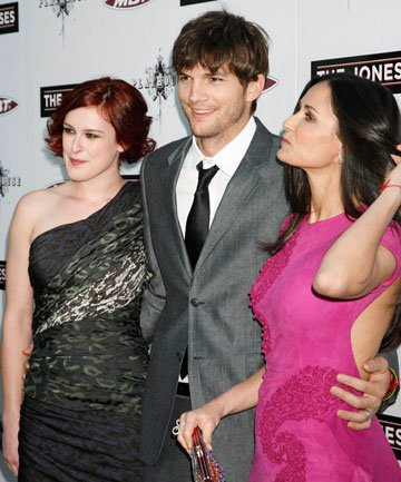 Rumer Willis crush on Ashton Kutcher
