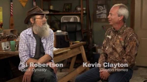 Si Robertson Clayton Homes