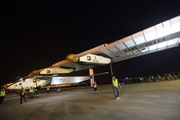 Solar Impulse 2 Chongqing flight