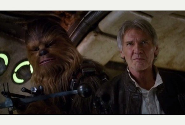 Star Wars Episode VII trailer features Han Solo and Chewbacca