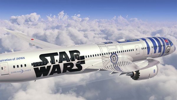 Star Wars plane ANA