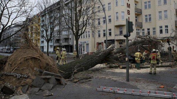 Storm Niklas Europe 2015