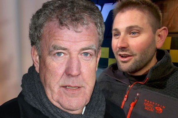 Top Gear Jeremy Clarkson and Oisin Tymon