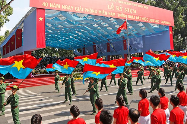 End of Vietnam War 40th Anniversary Marked with Military Parades