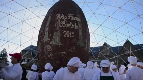 World's biggest Easter egg Bariloche