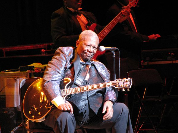 BB King in hospice
