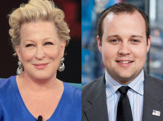 Bette Midler enters Josh Duggar controversy