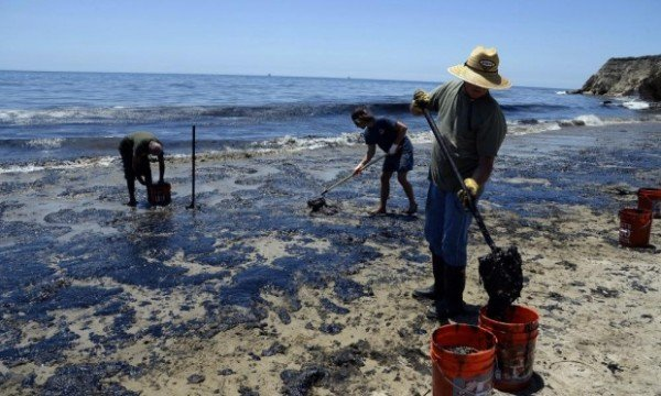 California oil spill 2015