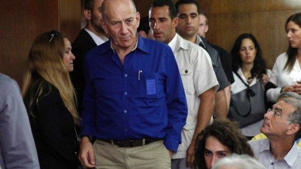 Ehud Olmert sentenced in Israel