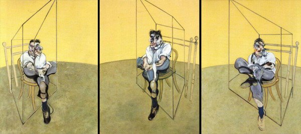 Francis Bacon Three Studies of Lucian Freud