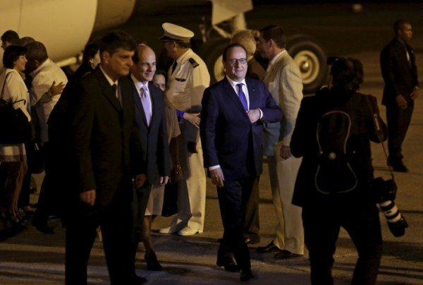 Francois Hollande in Cuba