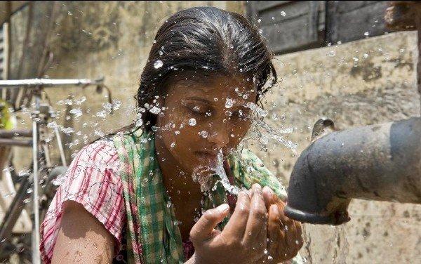 India heat wave 2015