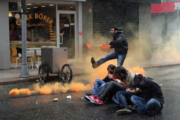 Istanbul May Day protests 2015