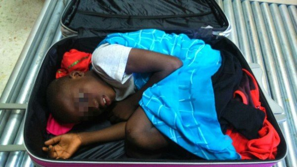 Ivorian boy smuggled into Spain