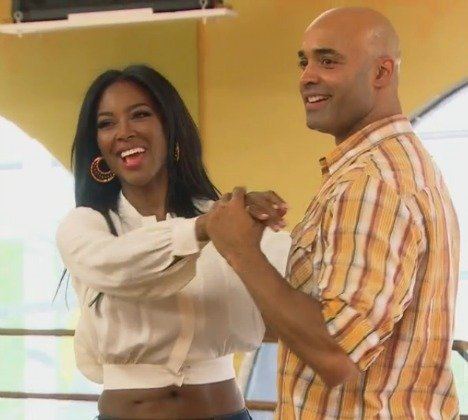 Kenya Moore and James Freeman on Millionaire Matchmaker
