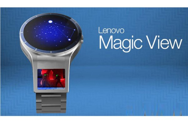 Lenovo Magic View dual screen smartwatch