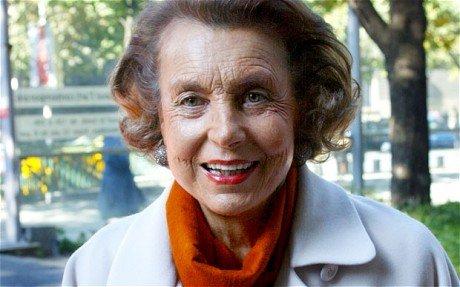 Liliane Bettencourt exploitation