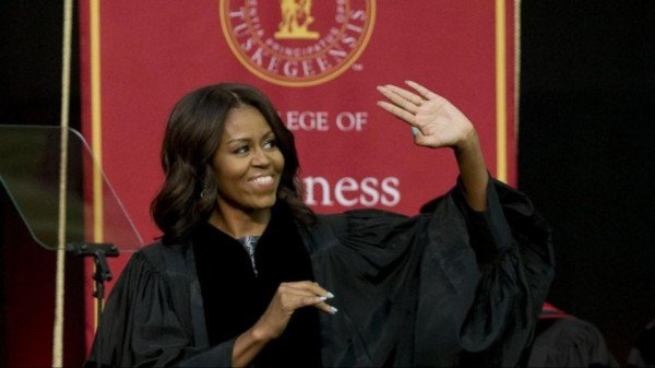 Michelle Obama commencement speech Tuskegee University