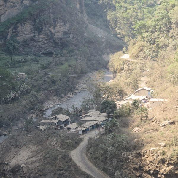 Nepal landslide blocks Kali Gandaki River