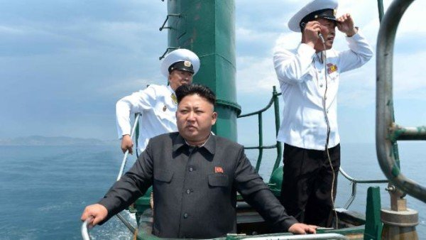 North Korea underwater missile