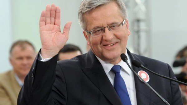 Poland presidential election Bronislaw Komorowski