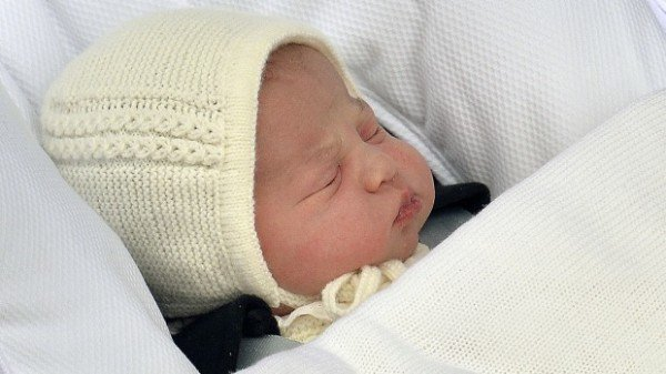 Princess Charlotte leaves Kensington Palace