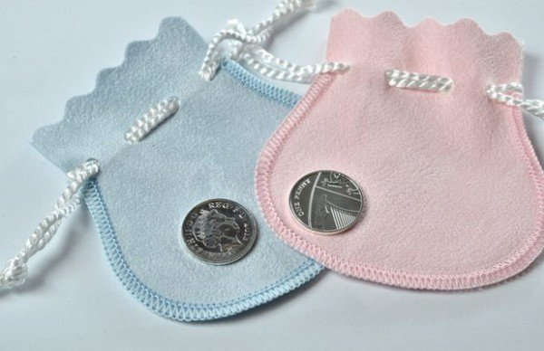 Royal Mint silver penny baby princess