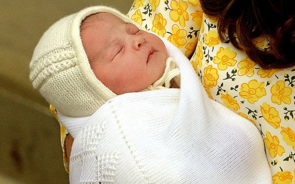 Royal baby princess Barack Obama